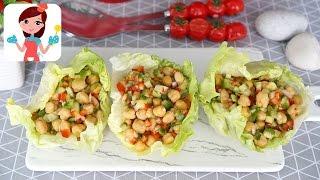 Soğanlı Nohut Salatası Tarifi - Kevserin Mutfağı Yemek Tarifleri