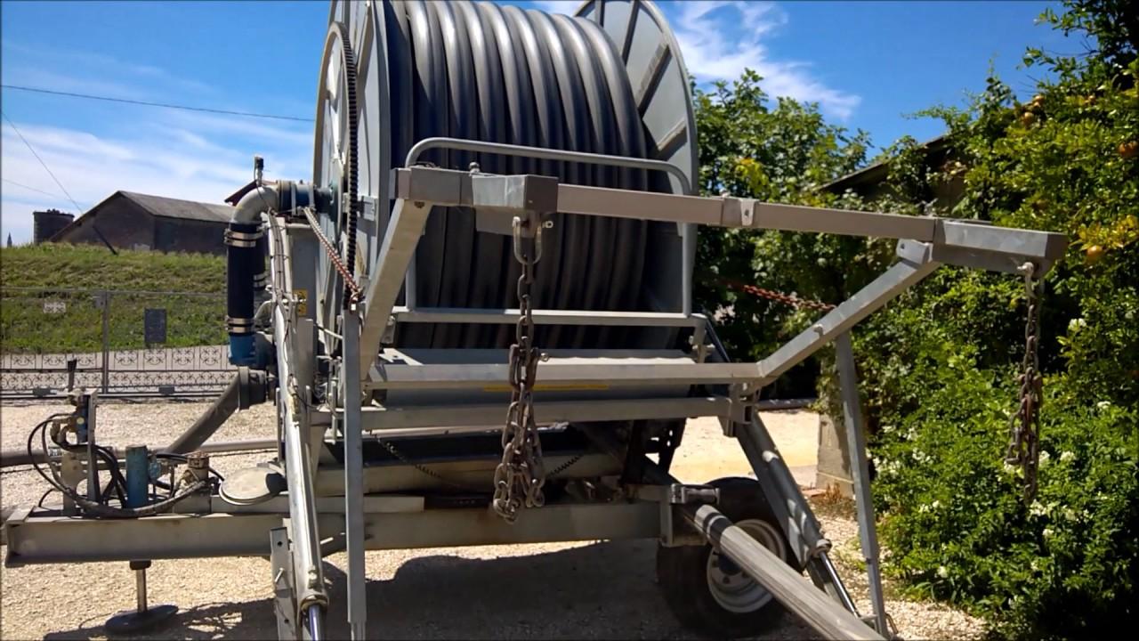 Irrigazione vigneto con rotolone nettuno 110 240 for Irrigazione vigneto