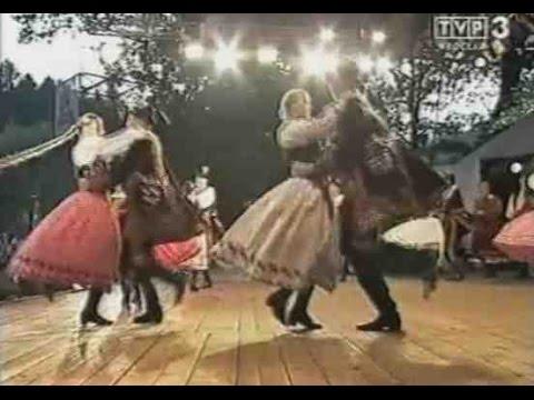 Taniec ludowy (góralski) zespół Lachy Nowy Sącz Polish Folk Traditional Dance Gorals
