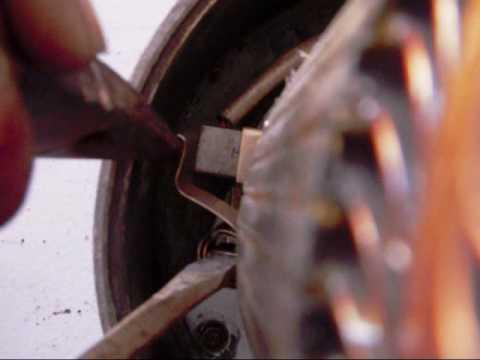 golf cart electric motor rebuild - YouTube