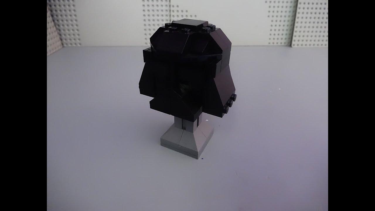 How To Build A Mini Lego Darth Vader Display Helmet