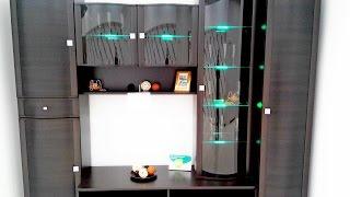 RGB подсветка полок при помощи витой пары(Решил поделиться способом монтажа RGB подсветки стеклянных полок мебели при помощи витой пары. 4-х жильный..., 2015-10-16T08:47:31.000Z)