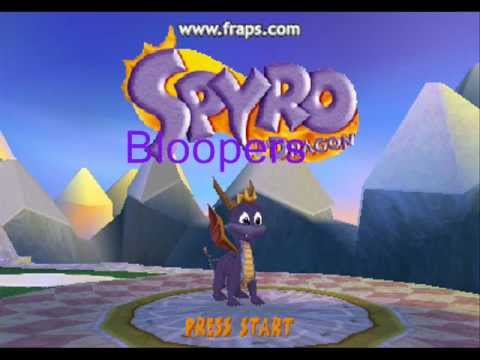 Spyro bloopers: Spyros long day after the vacation