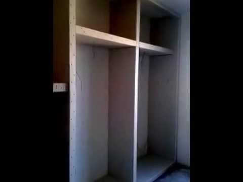 armadio a muro in cartongesso di vincenzo  YouTube
