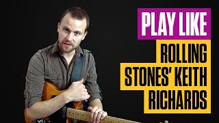 Learn Classic Keith Richard Riffs from The Rolling Stones | Rhythm Guitar Lesson | Guitar Tricks
