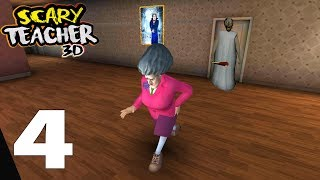 Scary Teacher 3D Android Gameplay Walkthrough Part 4 (Android,iOS)