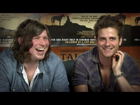 An amazing interview with Kings of Leon - includes vomiting