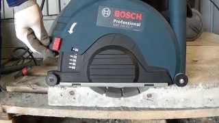 Система пылеудаления GDE Bosch для УШМ