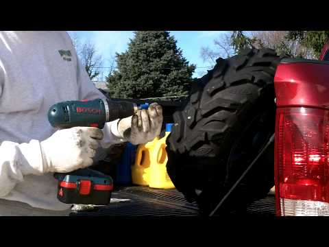 Studding My ATV Tires
