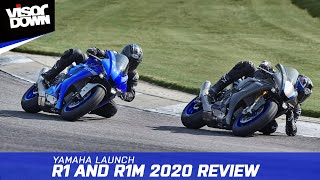 Yamaha R1M & R1 2020 Launch Review