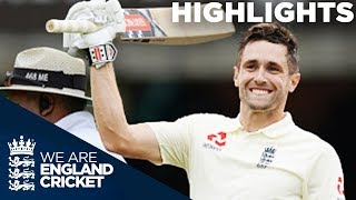 Chris Woakes Hits Maiden Test Century | England v India 2nd Test Day 3 2018 - Highlights