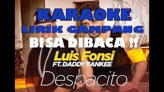 Download Video KARAOKE Despacito Lirik Gampang dan mudah BISA DIBACA!! Luis Fonsi - Despacito ft. Daddy Yankee MP3 3GP MP4