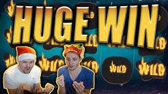 HUGE WIN on THE WISH MASTER Slot - Casino Stream Big Wins