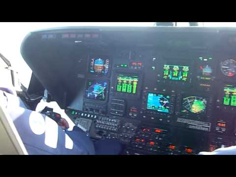 Bristow Norwich S76C++ 8. North Sea Glass Cockpit demo