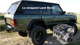Forza horizon 4 1973 Land Rover auction build episode 1 ls swap