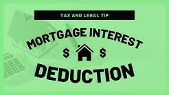 Mortgage Interest Deduction | Mark J Kohler | Tax & Legal Tip