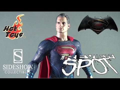 Collectible Spot - Hot Toys Batman V Superman Superman Sixth Scale Figure (Sideshow Exclusive)