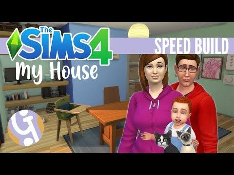 🏠 My House!   Sims 4 Speed Build thumbnail
