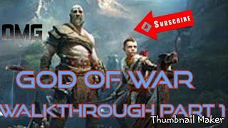 God of War Gameplay Walkthrough Part 1