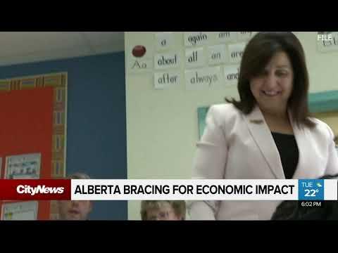 Alberta bracing for economic impact