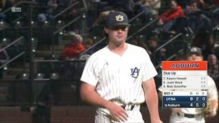Auburn Baseball vs UTSA Game 1 Highlights