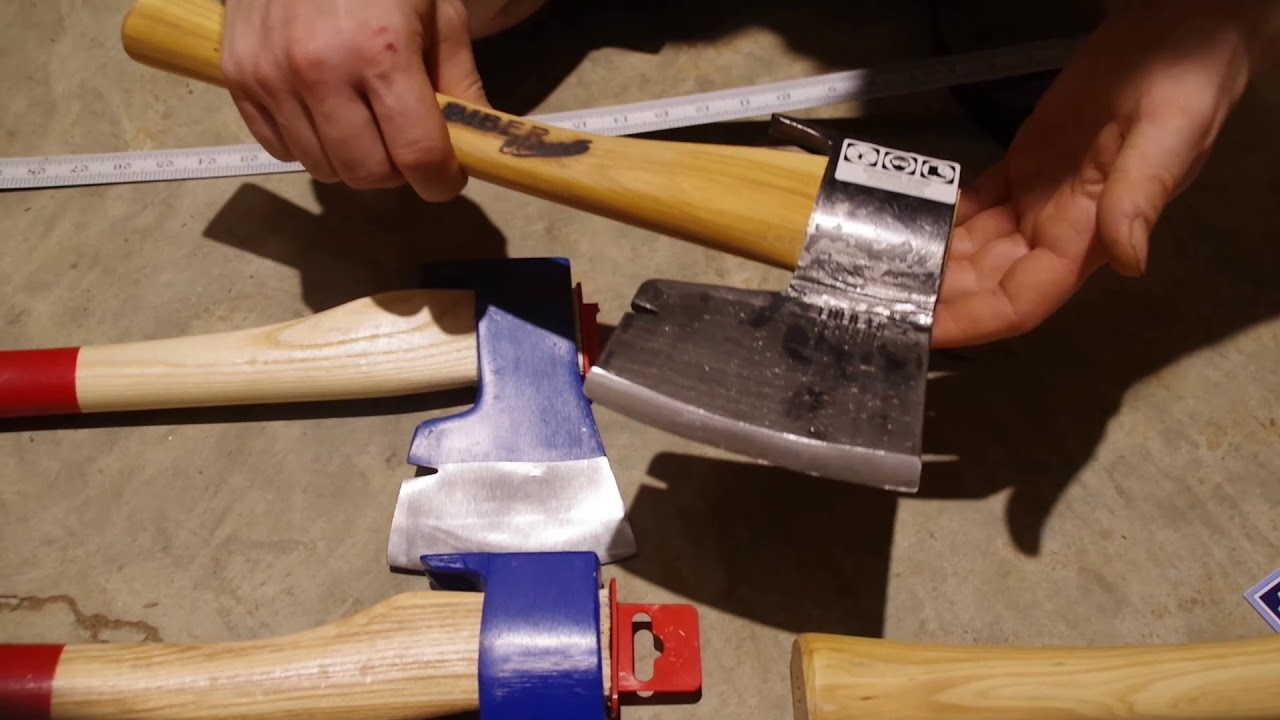 Muller Broad Axe vs Stubai Carpenters Axe Review