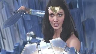 Injustice 2 wonder woman vs wonder woman et supergirl 3-0 pour moi