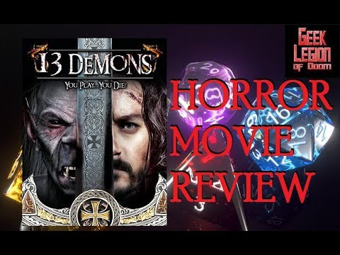 13 DEMONS ( 2016 Michael Cunningham ) Fantasy Horror RPG Movie Review
