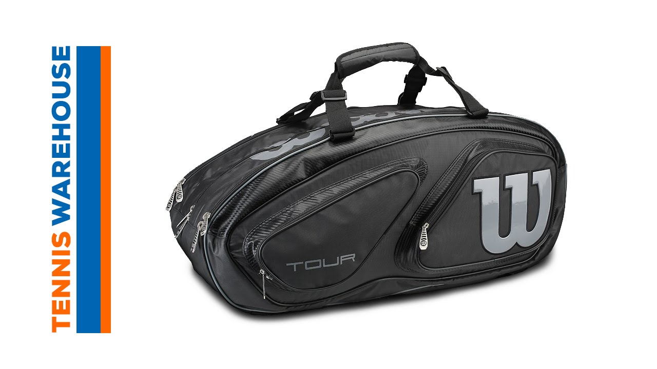 4af2567b5e30 Wilson Tour V 15 Pack Bag. Tennis Warehouse
