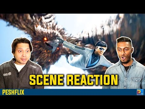 2.0 - Chitti Intro Action Scene Reaction | Rajinikanth | Akshay Kumar | PESHFlix