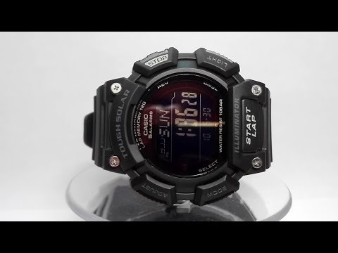 Casio Tough Solar STL-S110H-1B2EF watch video 2017