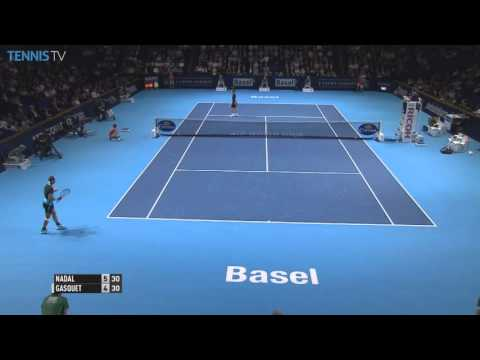 Nadal Strikes Back In Basel