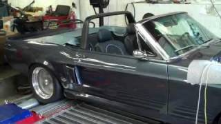 1967 Eleanor Mustang Convertible  Dyno