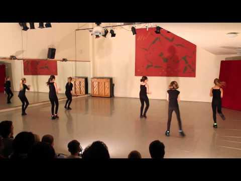 Streetdance/ballet 10-12 jaar presentatie 2014-Amsterdam Dance Centre