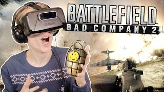 Battlefield Bad Company 2 in Virtual Reality (Oculus Rift: DK2)
