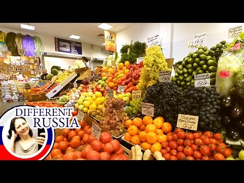 Russian Farmer's Market. Autumn Food Prices 2016. I Answer Your Questions