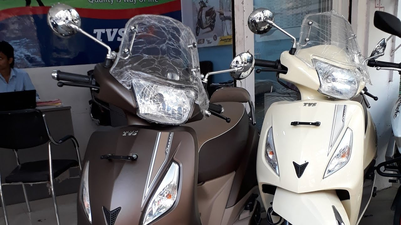 Tvs Jupiter Classic New Colour Review Matte Chocolate Brown 2017