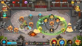 castle defense 2 hard 15 1 88 3 stars hd palace guard