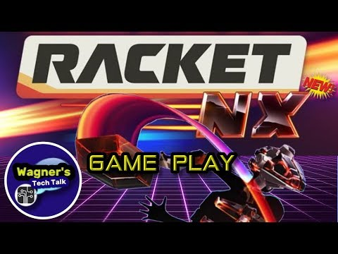 Racket NX on the Oculus Quest: Game-Play and Review + Multiplayer Demonstration!