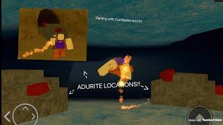 ROBLOX Booga Lost Sea | *NEW* ALL LOCATIONS OF ADURITE!!! (BOOGA LOST SEA!)