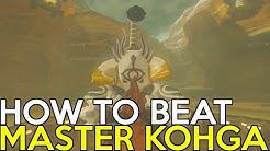 How to beat Master Kohga - Legend of Zelda Breath of the Wild