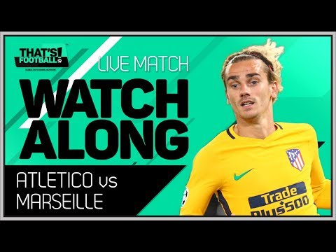 Marseille vs atletico de madrid live europa league final watchalong