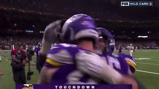 KYLE RUDOLPH SNAGS THE GAME WINNER IN OT TO SEND SAINTS HOME | VIKINGS VS SAINTS 2020 | #NFL