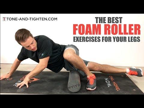 Best Foam Roller Exercises For Your Legs