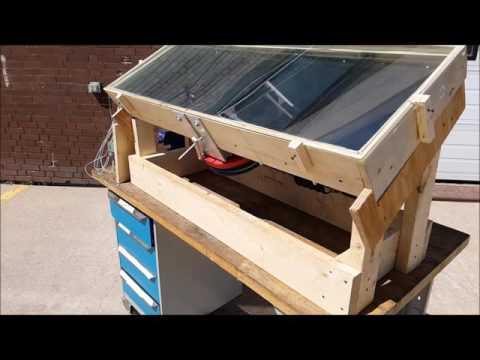 Flat Plate Solar Stirling Engine