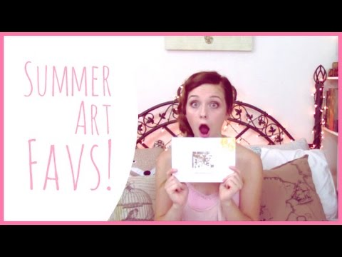 My Summer Art Favorites!!