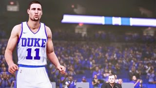 DUKE vs UNC in CAMERON INDOOR STADIUM! NBA 2k16 My Team Ep. 7