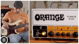 THE NEW ORANGE TERROR BASS!