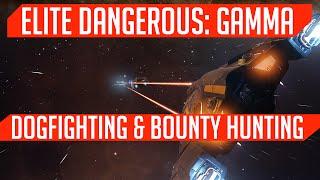 Bounty Hunting & Dogfighting! (Elite: Dangerous Gameplay)