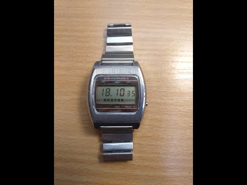 Часы электроника 5 сделано в ссср.